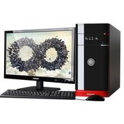 清华同方 精锐X850H-BI02 台式电脑(i5-4460 4G 500G GT705独显 前置USB3.0 WIN 7)