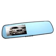 吉斯卡 蓝镜防眩车载后视镜 双镜头行车记录仪 高清超广角夜视王 超薄单镜头C1000