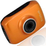 apphome 720P高清户外运动迷你摄像机车载行车记录仪 黄色