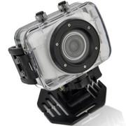 apphome 720P高清户外运动迷你摄像机车载行车记录仪 白色