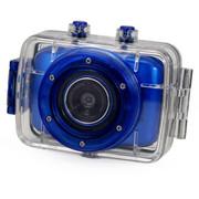 apphome 720P高清户外运动迷你摄像机车载行车记录仪 蓝色