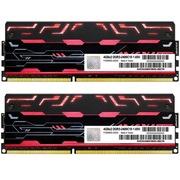宇帷 BLITZ系列 火焰红 DDR3 2400 8GB(4G×2条)台式机内存(AVD3U24001004G-2BZ1R)