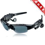 现代演绎 /悍科 G500 蓝牙眼镜 立体声听歌 打电话司机必备 太阳镜 墨镜 偏光眼镜 黑色 官方标配+赠送镜片+赠送500毫安充电器