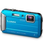松下 DMC-TS25GK-A 数码相机 蓝色 (防水 防尘 防摔 防冻)