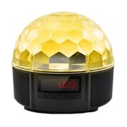 果珈 无线蓝牙音箱迷你音响便携插卡音箱 LED水晶魔球创意蓝牙音箱 发光音响 舞台灯光