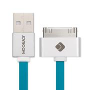 机乐堂(JOYROOM) 数据线/充电线 适用于苹果iPhone4/4S 蓝色