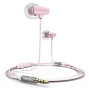 REMAX RM-702安卓版线控陶瓷耳机 粉红色