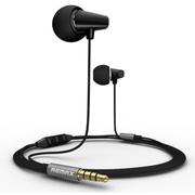 REMAX RM-701苹果版线控陶瓷耳机 黑色