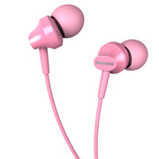 REMAX RM-501立体声入耳式耳机 粉红色