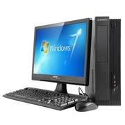 清华同方 精锐X1-BI03台式电脑(intel Baytrail-D J1800 2G 500G 核芯显卡 有线键鼠 win7 小机箱)