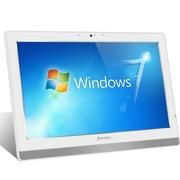 清华同方 精锐X30 19.5英寸 超薄一体机(Intel 四核 J1900 2G 500G 有线键鼠 WIFI WIN7)白色