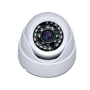 HNM 安防摄像头 高清900线吸顶海螺半球红外夜视监控摄像头 监控摄像机探头 6米白色摄像头