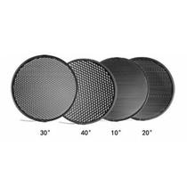 金贝 蜂窝网套装 55度便携标准灯罩专用 (10度20度30度40度)摄影器材 蜂巢罩产品图片主图