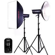 金贝 太阳灯 EF-200 常亮灯大功率LED摄影灯摄像灯无闪儿童影楼专业摄影棚套装