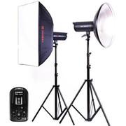 金贝 太阳灯 EF-100 常亮灯LED摄影灯摄像灯无闪儿童影楼专业摄影棚套装