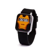 亦青藤 新款Y26迷你儿童定位手表,gps定位器gps个人定位追踪器 漫熊黑版