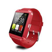 依斯卡 U-Watch U8 智能手表(红色)
