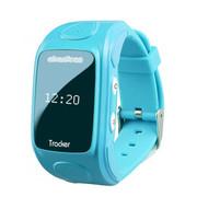 abardeen 儿童安全卫士2智能儿童手表手机腕表GPS定位手环 天蓝色