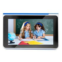 巧智 学习平板电脑H9 双核7寸高清电容润眼屏学生平板电脑幼儿小学初高中同步点读同步 蓝色8G版+16G卡产品图片主图