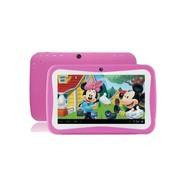 wisebrave 7寸平板 宝贝电脑儿童平板早教机学习点读机故事机可下载 粉红色+8G