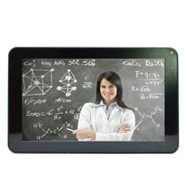 巧智 学生平板学习电脑 9寸大屏安卓学习双系统九门功课同步辅导小学中学名师视频 A-9 白色8G版+8G卡产品图片主图