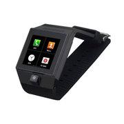 斯波兰 智能蓝牙手表手机 腕表手环 WIFI/GPRS上网 短信微信QQ 200万像素拍照 黑色