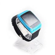 斯波兰 HX-S12 触屏智能蓝牙手表 短信收发 穿戴腕表 接拨电话 同步音乐播放 蓝色