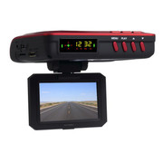 罗波特 行车记录仪 电子狗一体机 安霸方案720P高清夜视流动固定雷达测速仪 720P标准版 标配