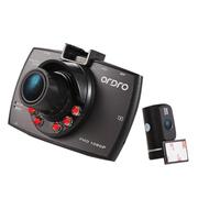 欧达 / P1 迷你车载行车记录仪 1080P高清录像超强夜视黑色 旗舰版双镜头