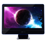 杰灵 21.5英寸一体电脑(B75 i3-3220 8G 1T 麦克风) 炫蓝