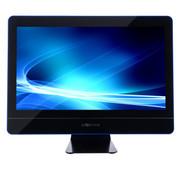 杰灵 21.5英寸一体电脑(B75 G2030 内存4G 硬盘500G) 炫蓝