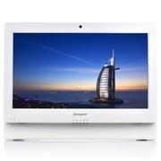 中柏 C200  21.5英寸一体电脑 (凌动D2500/2G/500G)白色