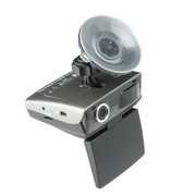 金司令 V2高清广角夜视行车记录仪电子狗安全预警仪流动固定测速一体机 三合一 三合一配8G卡