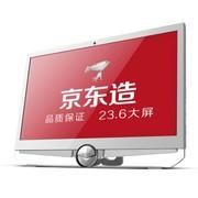 東格 AD102一体台式电脑(AMD4核N950/4G/1G独显/500G/DVD/无线键鼠/wifi/DOS)珍珠白