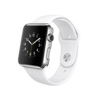 苹果 Apple Watch 智能手表(白色/38毫米表壳/运动型表带)产品图片主图