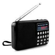戴芙迪 便携式插卡迷你收音机Y-869 黑色