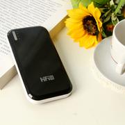 高蜚 超薄11200毫安双口 超薄移动电源 适用iphone5s三星s5/s4小米大容量充电宝通 黑色