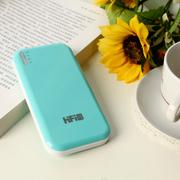 高蜚 超薄11200毫安双口 超薄移动电源 适用iphone5s三星s5/s4小米大容量充电宝通 天蓝色