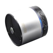 维尔晶 BT05DS 音箱 音响 蓝牙音箱 蓝牙音响 无线音箱 低音炮  迷你插卡音响便携式 2代银黑 支持一键接听