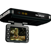 天驰达 送8G卡 台湾668S行车记录仪电子狗一体机固定流动测速超速提醒 高清测速三合一 标配送32G高速卡