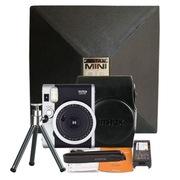 富士 趣奇(checky)instax mini90相机 复古礼盒套装 黑色