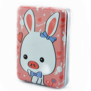 新科 S168手机 充电宝10000毫安 移动电源   超薄 猪兔子 龙猫 彩蛋 豹纹