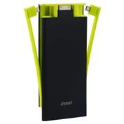 爱数码(aismart) 聚合物电芯移动电源充电宝T8  黑色  8000mah 双USB输出