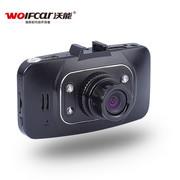 沃能 正品 K200超高清170度广角夜视 1080P行车记录仪 标配无卡