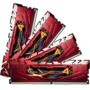芝奇 Ripjaws 4 DDR4 2666 32G(8G×4条)台式机内存(F4-2666C15Q-32GRR)