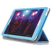 桑瑞得 华为荣耀平板电脑皮套 3G保护套 华为S8-701u/w  钢丝纹 天空蓝