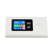 中沃(FREE WORKS) 无线4G/3G路由器直插sim卡2000毫安随身wifi 适用于联通/电信/移动 白色 6模4G三网/3G三网通用