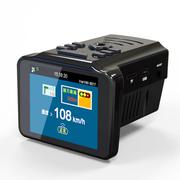 瑞世泰 行车记录仪电子狗GPS一体机三合一 广角夜视24小时监控 HR303 标配无卡+24小时监控