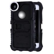 富图宝 IP-5 思克朗 苹果iPhone5/5S手机套手机壳 硅胶保护套 超强保护壳 自拍配件 黑色