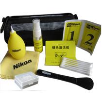 尼康 九件套 佳能 单反相机清洁剂套装 收纳包 气吹子 镜头清洁布 毛刷 清洁液等产品图片主图